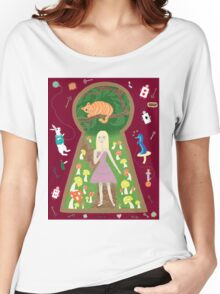 Alice (Fairy Tale Fashion Series #4) Women's Relaxed Fit T-Shirt