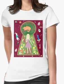 Alice (Fairy Tale Fashion Series #4) Womens Fitted T-Shirt
