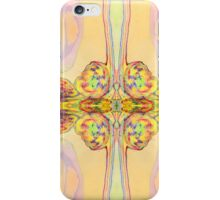 Vibrant Butterfly Textile Print Pattern iPhone Case/Skin