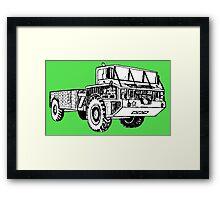 BIG TRUCK-2 Framed Print