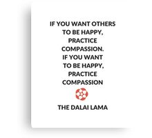 Compassion Canvas Print