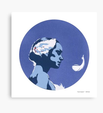 """""""Swan Queen"""" Canvas Print"""