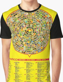 Namco Arcade History Graphic T-Shirt