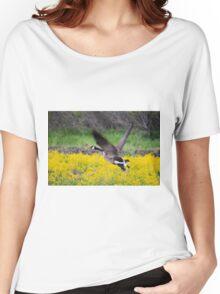 Mustard Flight Women's Relaxed Fit T-Shirt