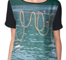 Ligurian loops ....... Chiffon Top