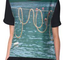 Ligurian loops ....... Chiffon Top