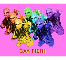 Gay Fieri Photographic Print