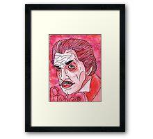 Price in Color Framed Print