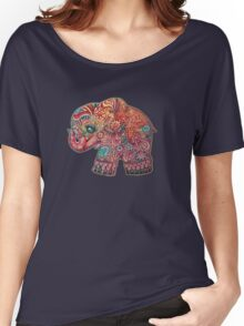 Vintage Elephant Women's Relaxed Fit T-Shirt