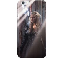 Clarke Griffin - Season 3 - Poster iPhone Case/Skin