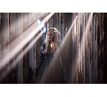 Clarke Griffin - Season 3 - Poster Photographic Print