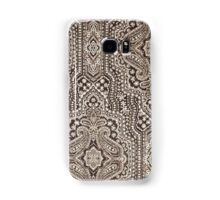 Moroccan Tapestry Brocade Ikat Pattern Samsung Galaxy Case/Skin
