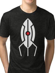 Minimal Portal Turret Tri-blend T-Shirt