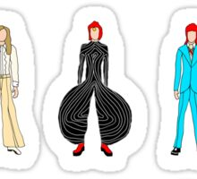 Bowie Scattered Fashion Sticker
