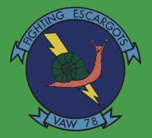 VAW-78 Fighting Escargots (Slugs) One Piece - Short Sleeve
