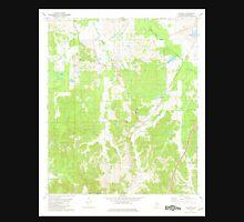 USGS TOPO Map Alabama AL Calhoun 303395 1981 24000 Unisex T-Shirt