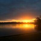 Sunrise on Callender Lake by Glenna Walker