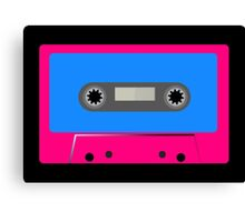Retro Vintage Cassette Tape - Cool Pop Music T Shirt Prints Stickers Canvas Print