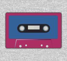 Retro Vintage Cassette Tape - Cool Pop Music T Shirt Prints Stickers Kids Tee