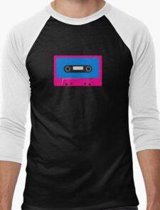 Retro Vintage Cassette Tape - Cool Pop Music T Shirt Prints Stickers Men's Baseball ¾ T-Shirt