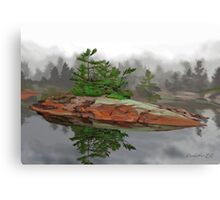 Lonely Point Canvas Print