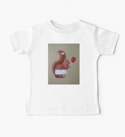 Squirrel  Baby Tee