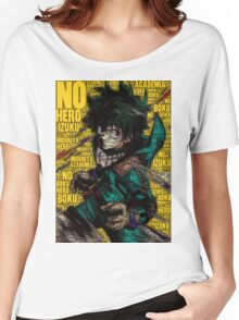 Izuku Midoriya - Boku no Hero Academia | My Hero Academia Women's Relaxed Fit T-Shirt