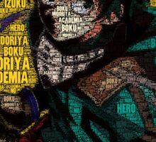 Izuku Midoriya - Boku no Hero Academia | My Hero Academia Sticker