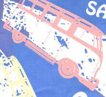 VW SAMBA SAMBA SAMBA Kombi  Sticker