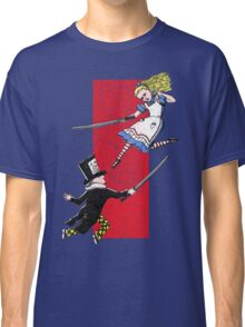 Alice vs. The Mad Hatter Classic T-Shirt