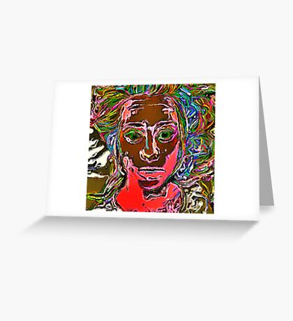 Awake Greeting Card