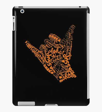 Shaka Sign Hang Loose iPad Case/Skin