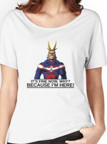 All Might anime manga shirt Women's Relaxed Fit T-Shirt