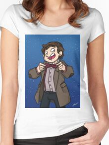 Doctor Who - Eleventh Doctor Women's Fitted Scoop T-Shirt