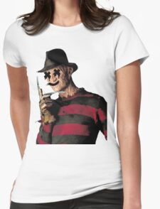 Trill Freddy Womens Fitted T-Shirt