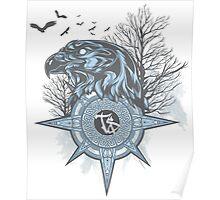 Design Elite Eagle Poster