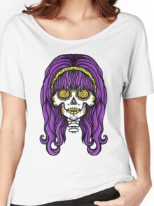 Alternative Hippy Skull Women's Relaxed Fit T-Shirt