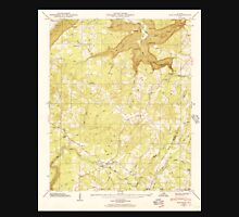USGS TOPO Map Alabama AL Flat Rock 303838 1946 24000 Unisex T-Shirt