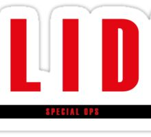 Solidus Special Ops Sticker