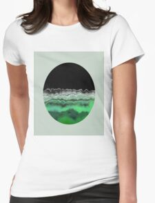 Emerald Decay Womens Fitted T-Shirt