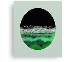 Emerald Decay Canvas Print