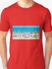 Beach Art - Live By The Sun Unisex T-Shirt
