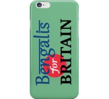 Bengalis for Britain 2 iPhone Case/Skin