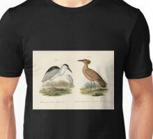 Bilder atlas zur Wissenschaftlich populären Naturgeschichte der Vögel in ihren sämmtlichen Hauptformen Leopold Joseph Fitzinger 1864 135 Unisex T-Shirt