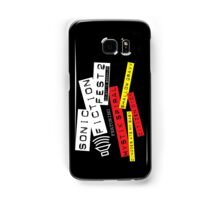 Sonic Fiction Fest 2: Eclectic Boogaloo Samsung Galaxy Case/Skin