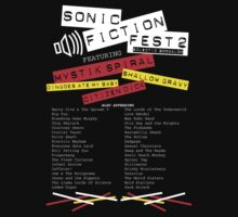 Sonic Fiction Fest 2: Eclectic Boogaloo Kids Tee