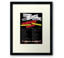 Sonic Fiction Fest 2: Eclectic Boogaloo Framed Print