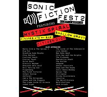 Sonic Fiction Fest 2: Eclectic Boogaloo Photographic Print