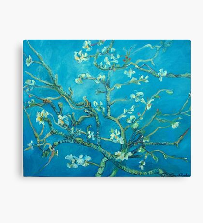 Almond blossoms  Vincent Van Gogh Canvas Print