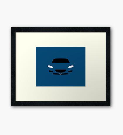 SE3P Simple design Framed Print